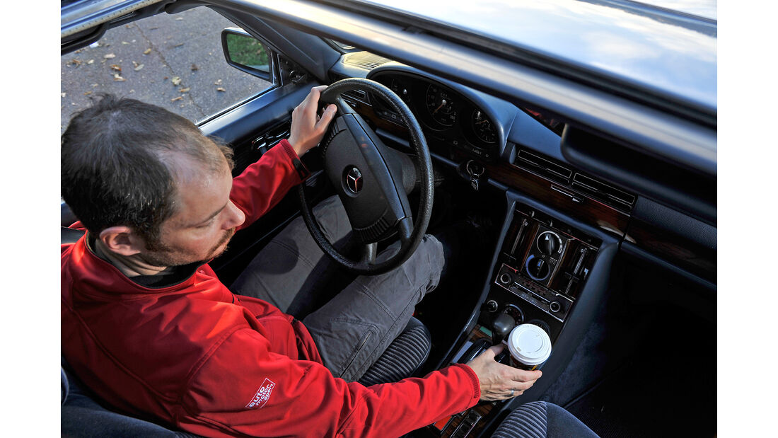 Mercedes 450 SEL 6.9, Cockpit, Sebastian Renz