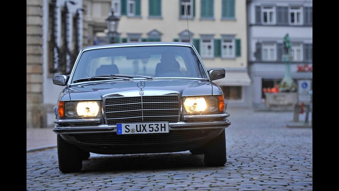 Mercedes 450 SEL 6.9, Frontansicht