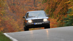 Mercedes 450 SEL 6.9, Frontansicht