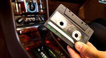 Mercedes 450 SEL 6.9, Mittelkonsole, Cassettenradio