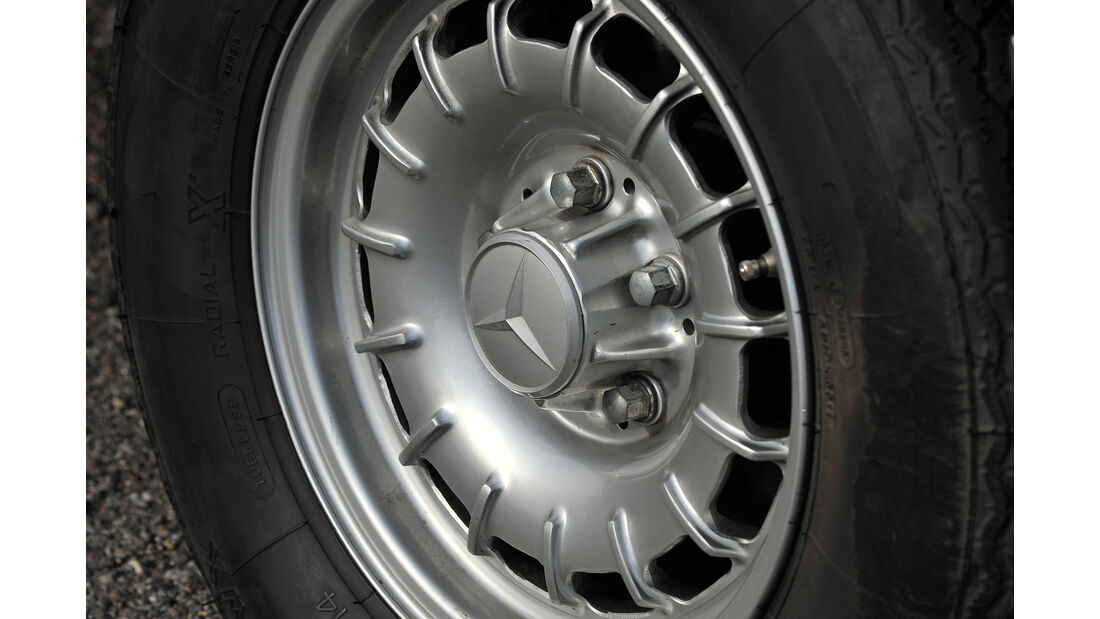 Mercedes 450 SEL 6.9, Rad, Felge