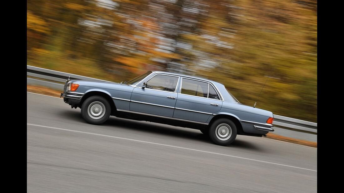 Mercedes 450 SEL 6.9, Seitenansicht