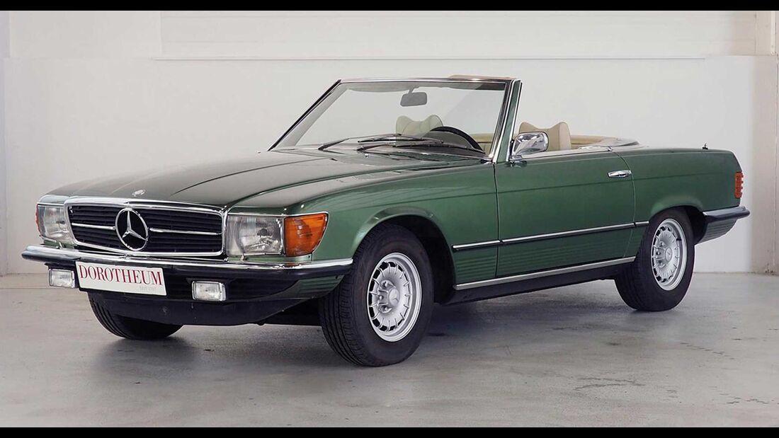 Mercedes 450 SL R107 Hotel Sacher (1974)