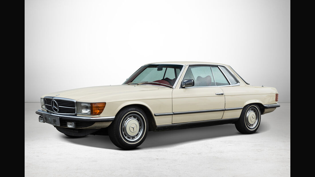Mercedes 450 SLC bei Auctionata-Auktion, Mercedes-Benz-Only
