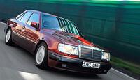 Mercedes 500 E, Frontansicht