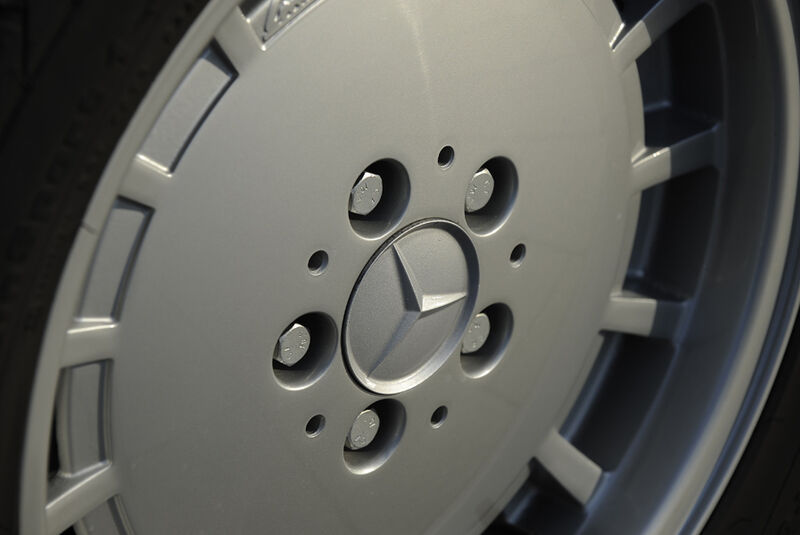 Mercedes 500 SEC, Felge