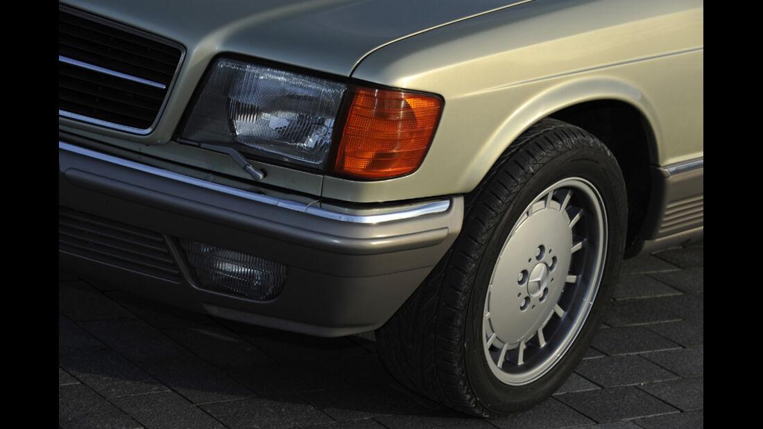 Mercedes 500 SEC, Scheinwerfer