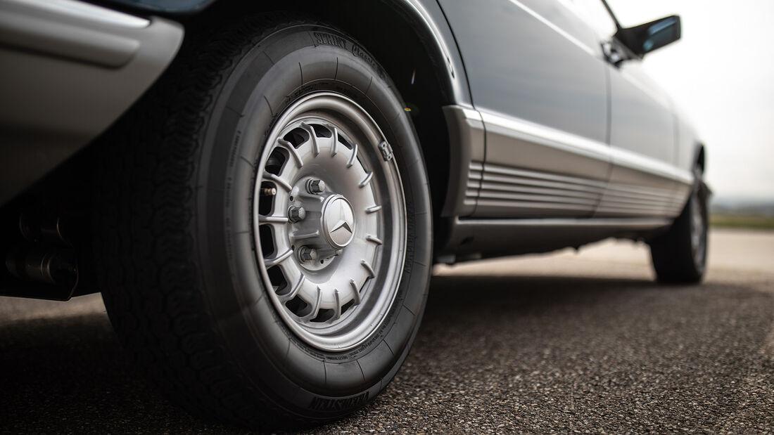 Mercedes 500 SEL W126, Exterieur