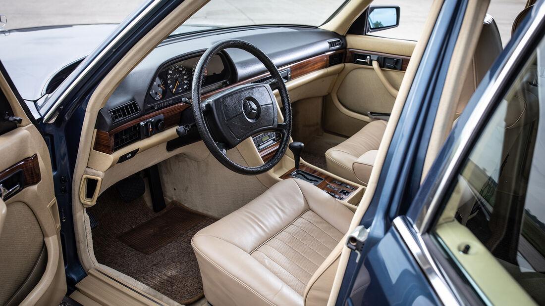 Mercedes 500 SEL W126, Interieur