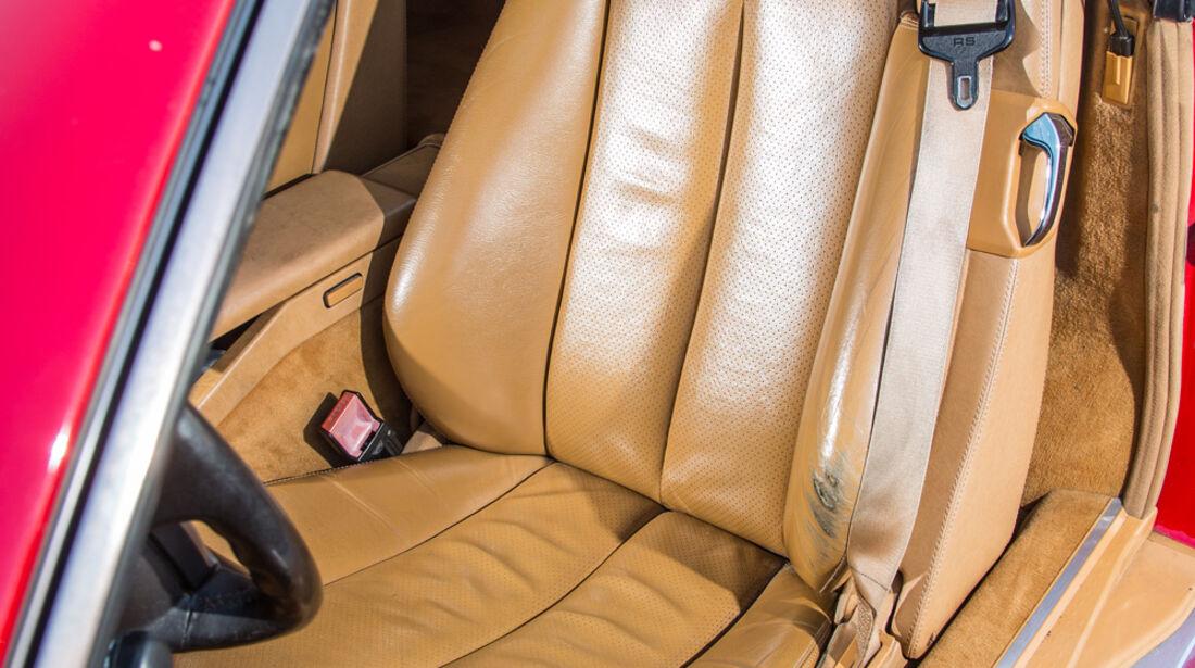 Mercedes 500 SL (R129), Fahrersitz