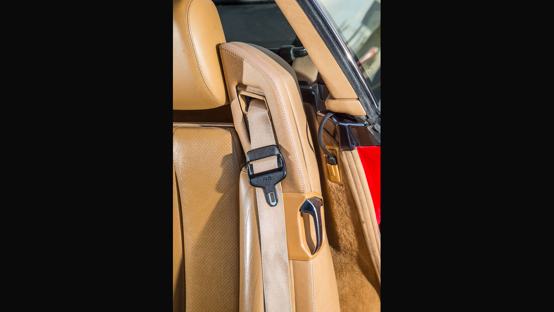 Mercedes 500 SL (R129), Gurtsystem
