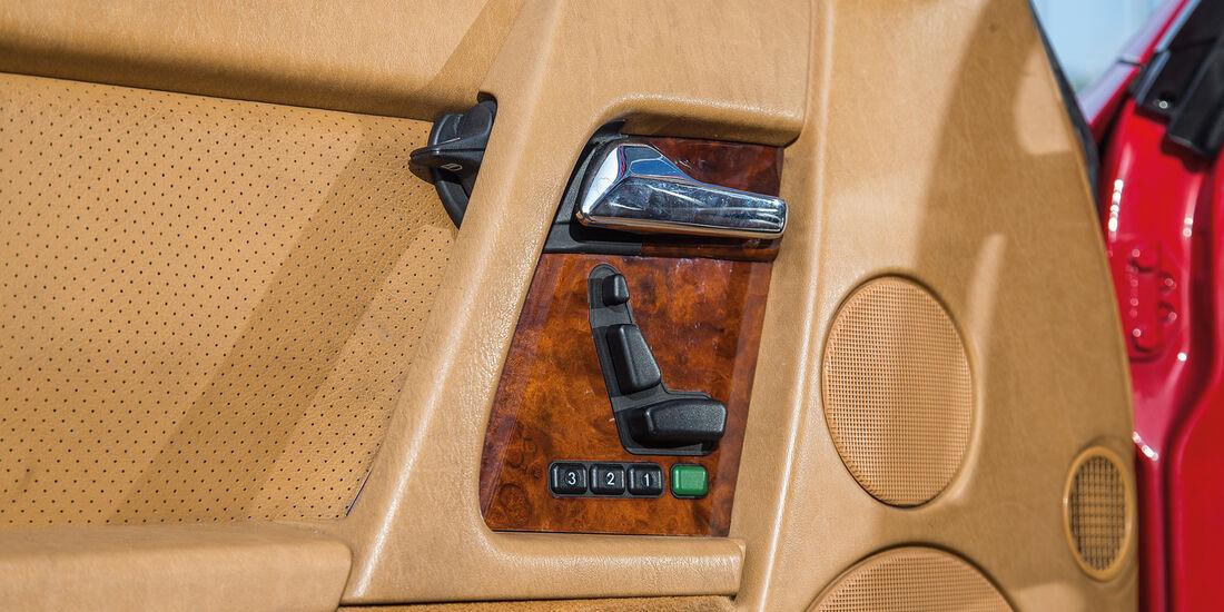 Mercedes 500 SL (R129), Sitzverstellung