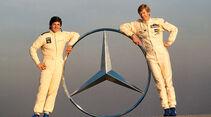 Mercedes 500 SL Rallye, Christian Geistdörfer, Walter Röhrl