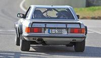 Mercedes 500 SL Rallye, Heckansicht