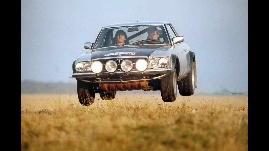Mercedes 500 SL Rallye, Sprung