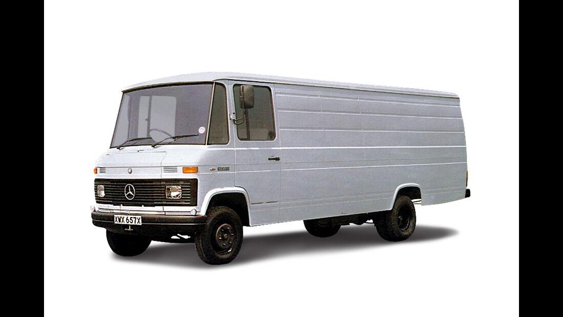 Mercedes 508 D T2 Transporter