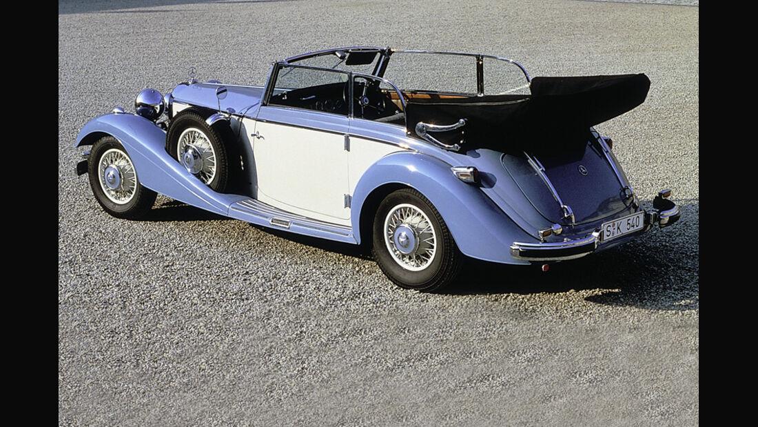 Mercedes 540 K Cabrio B, 1936