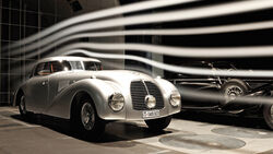Mercedes 540 K Stromlinie, Windkanal