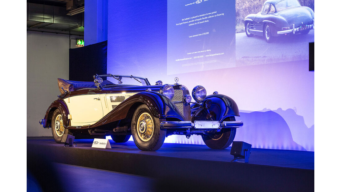 Mercedes 540K RM Auctions Techno Classica Essen