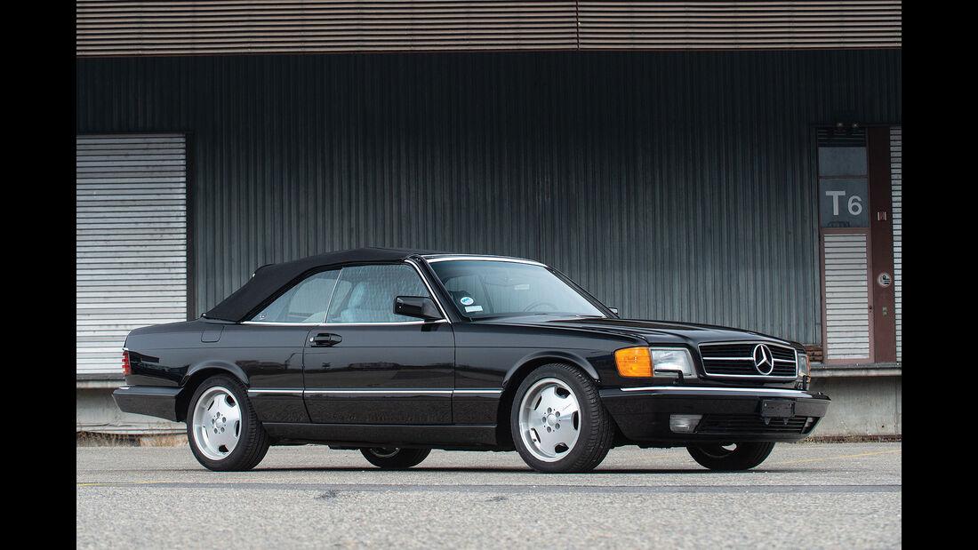 Mercedes 560 SEC Cabriolet C126 (1988)