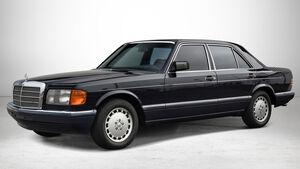 Mercedes 560 SEL bei Auctionata-Auktion, Mercedes-Benz-Only