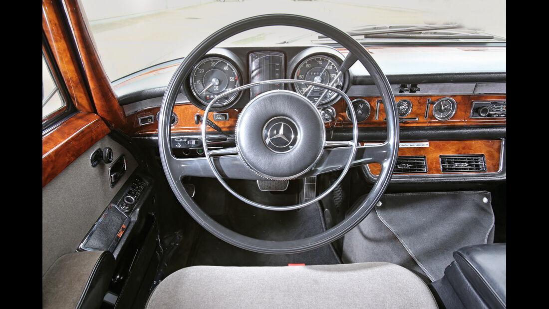 Mercedes 600, Cockpit, Lenkrad