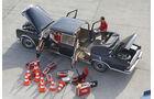 Mercedes 600 Landaulet, Exterieur, Redakteure