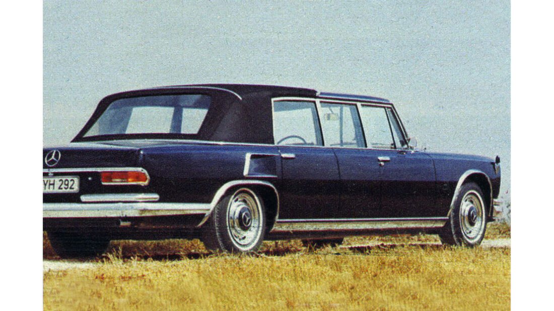Mercedes, 600 Landaulet, IAA 1977