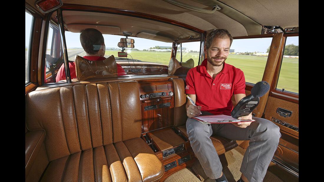 Mercedes 600 Landaulet, Interieur