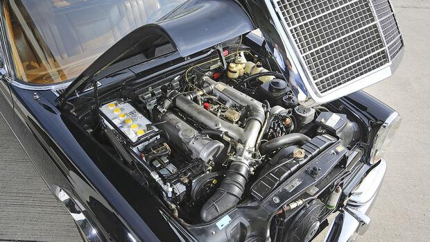Mercedes 600 Landaulet, Motor