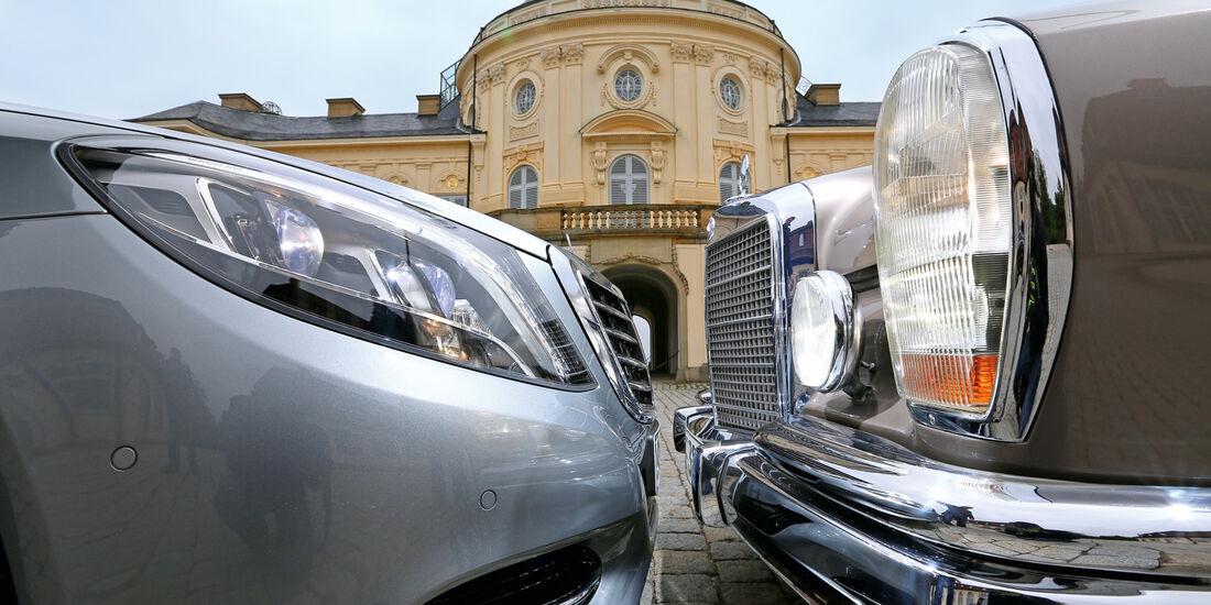 Mercedes 600, S 500, Lichter