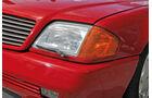Mercedes 600 SL, Frontscheinwerfer