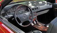 Mercedes 600 SL, Lenkrad, Cockpit