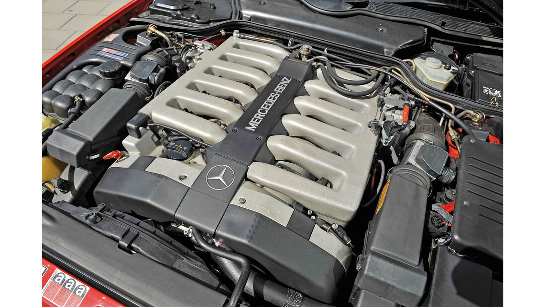 Mercedes 600 SL, Motor