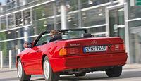 Mercedes 600 SL, SL 600, Heckansicht