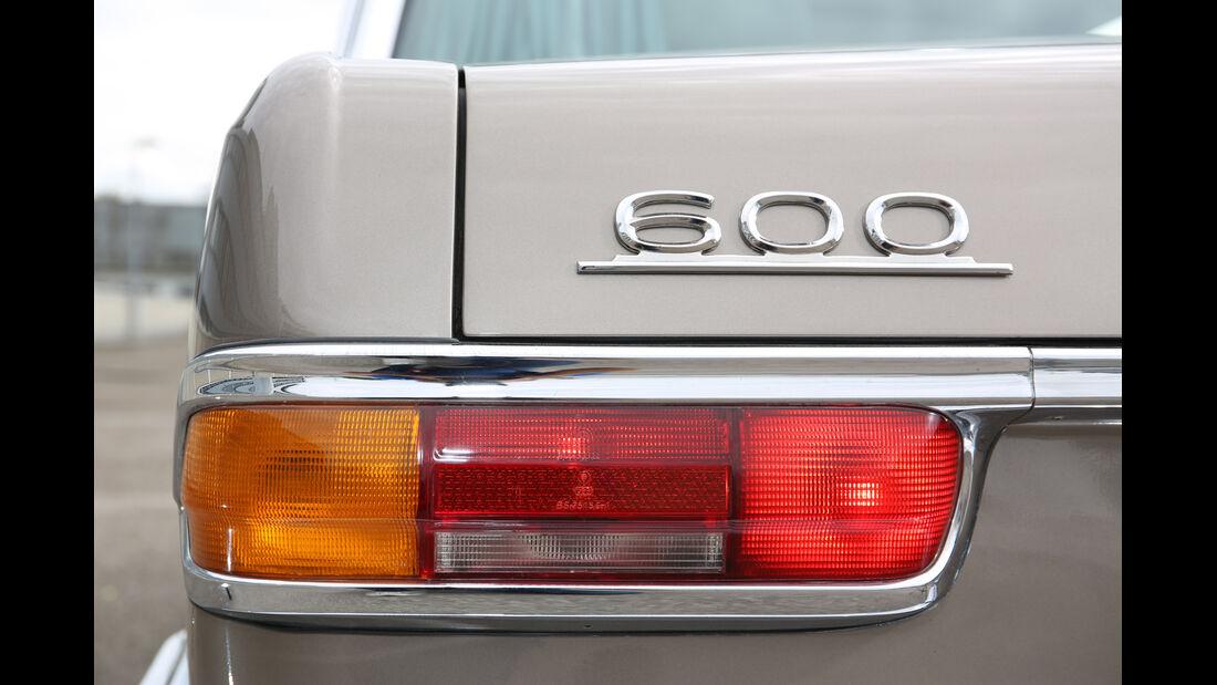 Mercedes 600, Typenbezeichnung