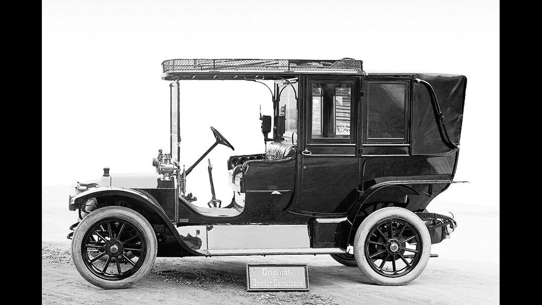 Mercedes 8/18 PS (Bauzeit 1910-1912), Landaulet.