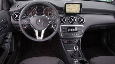 Mercedes A 160 CDI, Cockpit