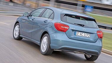 Mercedes A 160 CDI, Heckansicht