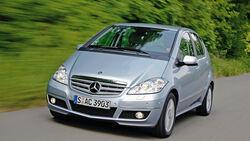 Mercedes A 170, Frontansicht