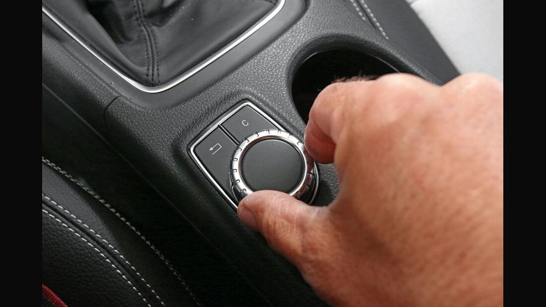 Mercedes A 180, Bedienelement