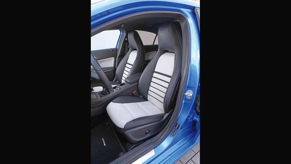 Mercedes A 180 CDI, Fahrersitz