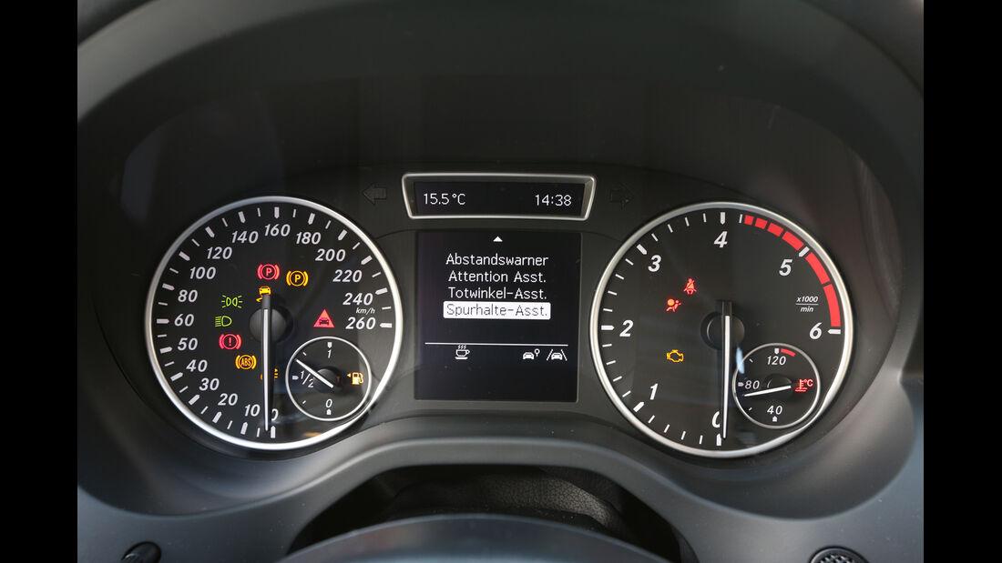 Mercedes A 180 CDI, Rundinstrumente