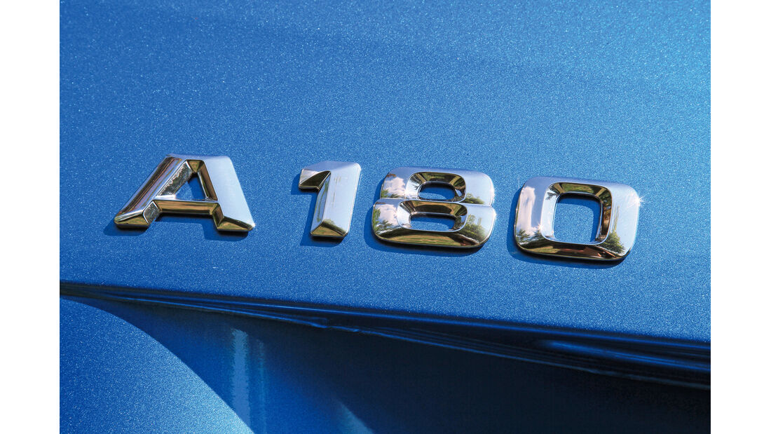 Mercedes A 180 CDI, Typenbezeichnung