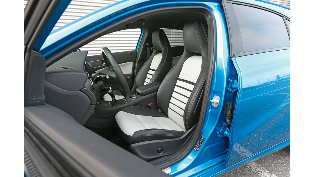 Mercedes A 180, Fahrersitz