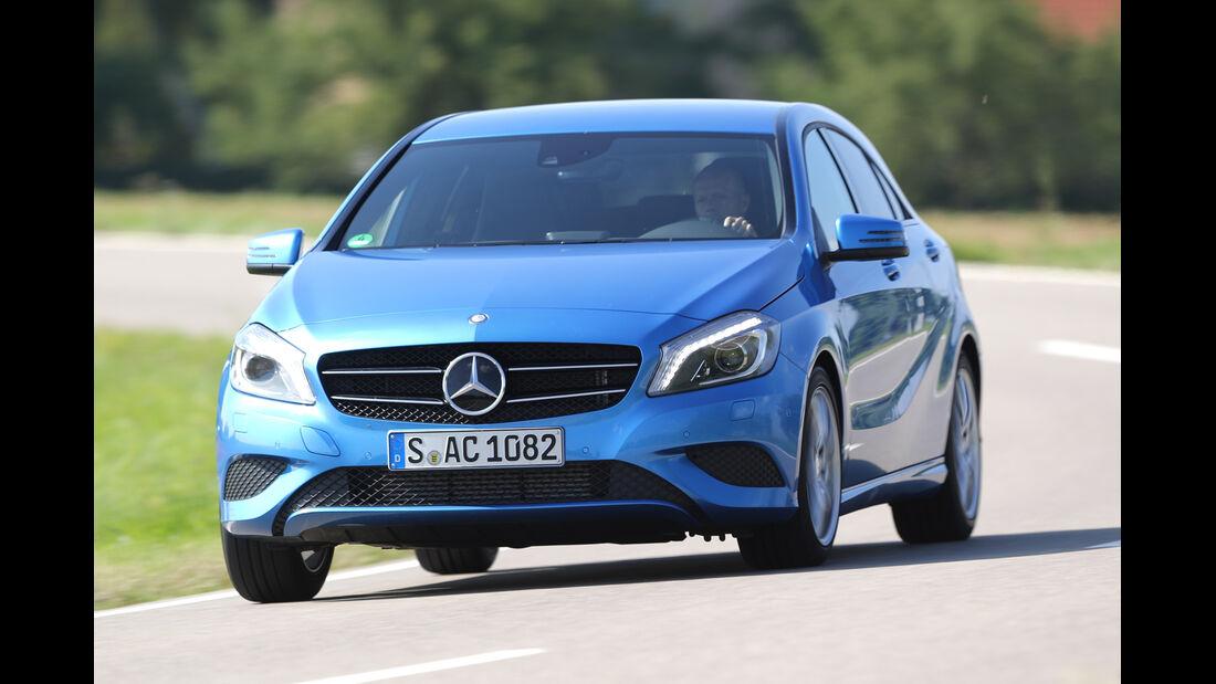 Mercedes A 180, Frontansicht
