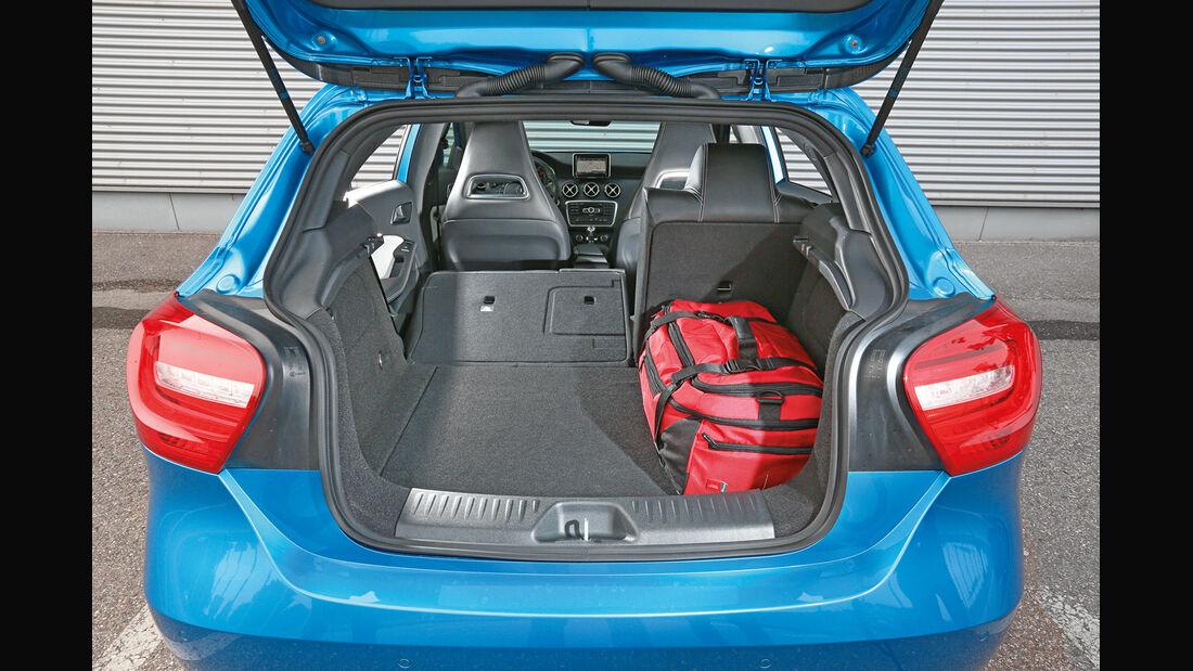 Mercedes A 180, Kofferraum