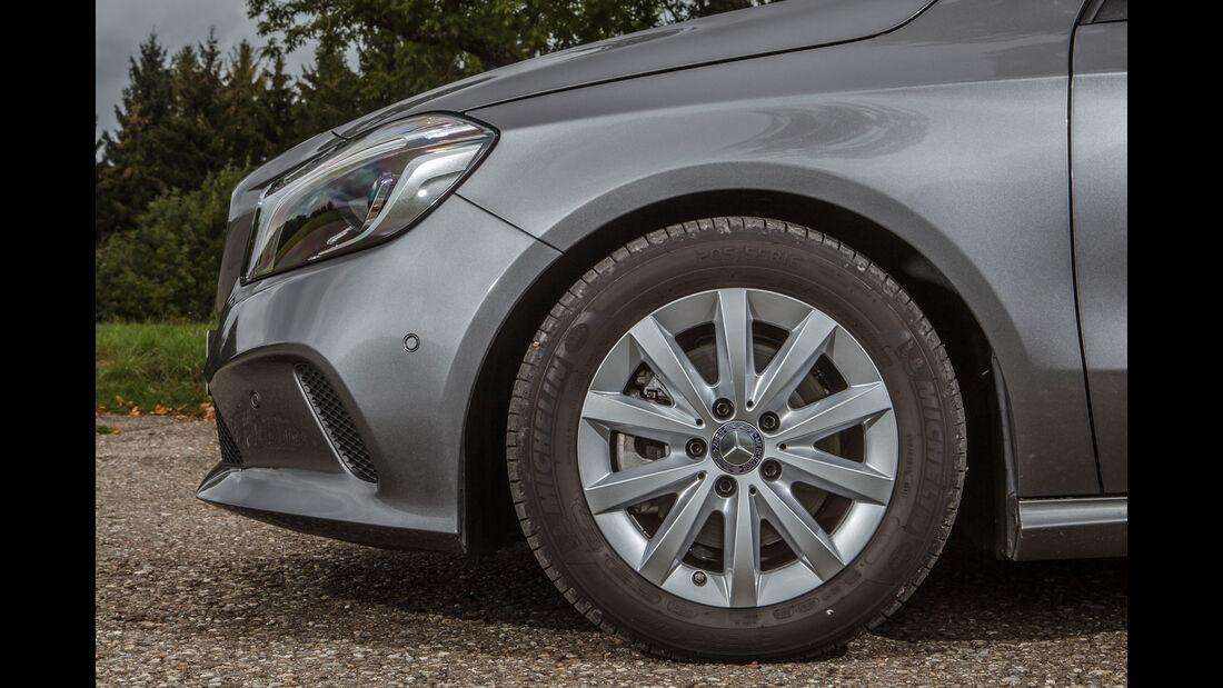 Mercedes A 180, Rad, Felge