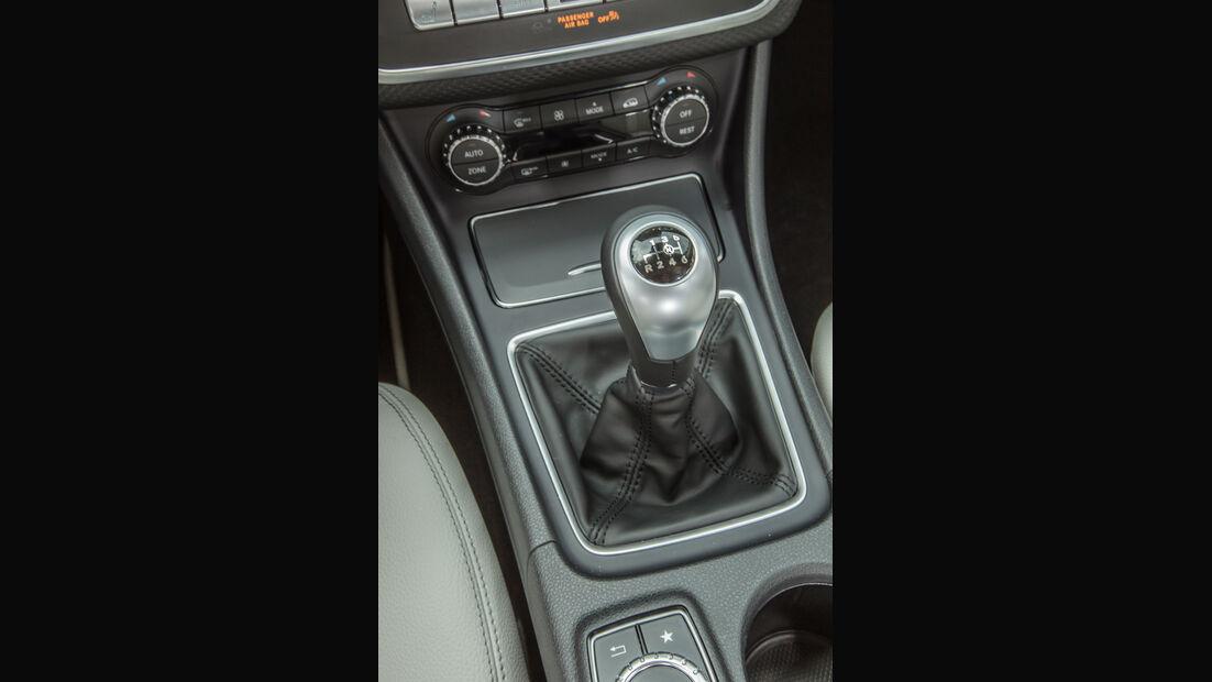 Mercedes A 180, Schalthebel