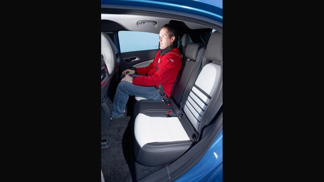 Mercedes A 180 Style Blue Efficiency Edition, Fondsitz, Beinfreiheit